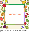 fruits, fruit, vector 42551092
