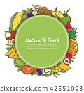 fruits, fruit, vector 42551093