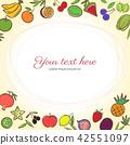 fruits, fruit, vector 42551097