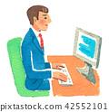 พีซี,ทำงาน,คน 42552101
