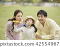 春天,家庭,公園,日常,散步,野餐,郊遊,休閒,團契,幸福 42554967