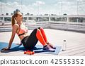 女人 女性 健身 42555352