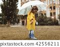 kid, girl, umbrella 42556211