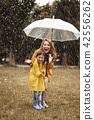 rain, child, girl 42556262