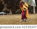 umbrella, girl, child 42556347