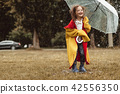 kid, child, umbrella 42556350