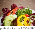 Fresh vegetable salad in the bowl 42559007