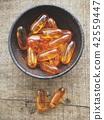 Cod liver oil capsules 42559447