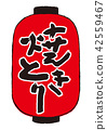등불, 일식, 일본 요리 42559467