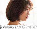 여성 미용 인물 42560143