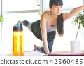 여성 미용 운동 42560485