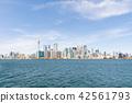 토론토 아일랜드에서 토론토의 거리 풍경 42561793