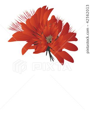 Prefectural Flower Simple Okinawa Deigo 42562013
