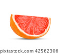 grapefruits isolated on white background 42562306