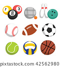 sports equipment vector collection design 42562980
