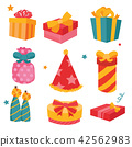 gift boxes vector collection design 42562983