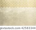 大麻葉箔金圖像(背景材料) 42563344