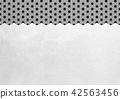 大麻葉箔黑白圖像(背景材料) 42563456