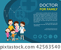 Doctor and family background poster landscape 42563540