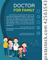 Doctor and family background poster portrait 42563543