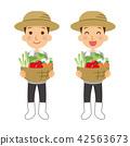 農民 農夫 農舍 42563673