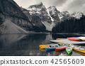Moraine Lake boat 42565609