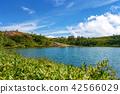 츠 白 根 山 (쿠사 츠 솥 8 월 여름 햇살) 42566029