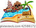 A pop up book pirate theme 42566172