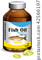 oil, fish, vector 42566197