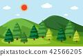 nature vector landscape 42566205