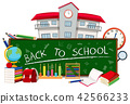 Back to school concept 42566233