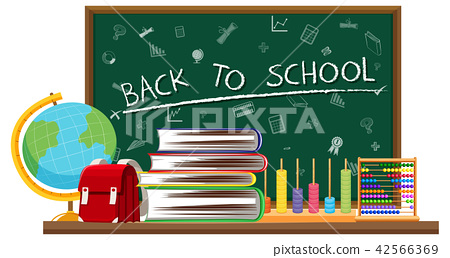 Back to school and learning elements 42566369
