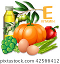 A Set of Vitamin E Food 42566412