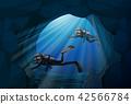 水下 矢量 矢量图 42566784