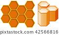 honeycomb vector honey 42566816