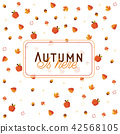 illustration, autumn, white 42568105