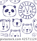 animal, pattern, cute 42571124