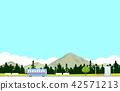 버스 풍경 42571213
