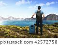 남성, 호수, 산 42572758
