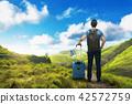 여행자, 사람, 배낭 42572759