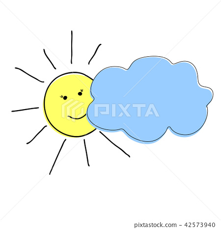 sun and cloud 42573940