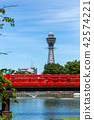 오사카 茶臼山에서 통천. 42574221