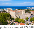 Rhodes old town in Greece 42574888