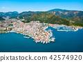 Marmaris aerial view in Turkey 42574920