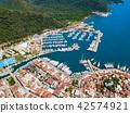 Marmaris aerial view in Turkey 42574921
