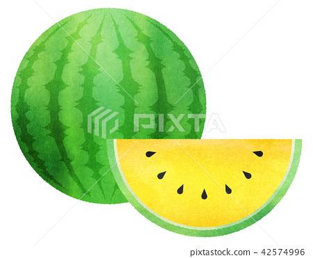 西瓜 水果 切西瓜 42574996