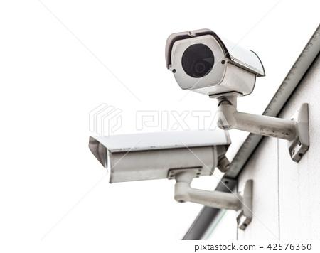 CCTV surveillance security camera video equipment. 42576360
