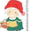 Senior Woman Tomtemor Sweden Jul Illustration 42577142