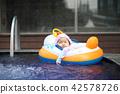 汗濕的夏天寶寶的水 42578726