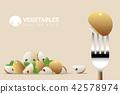 蘑菇 冠軍 餐叉 42578974